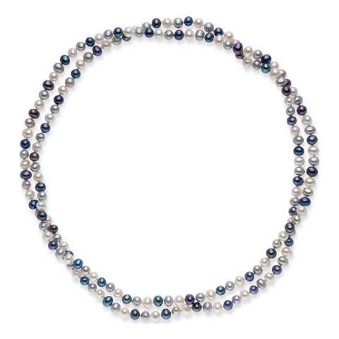 Nova Pearls Copenhagen Multicolour Freshwater Pearl Necklace 5-5.5mm