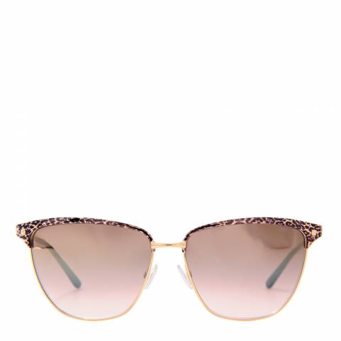 Jimmy Choo Womens Gold Jimmy Choo Sunglasses 57mm