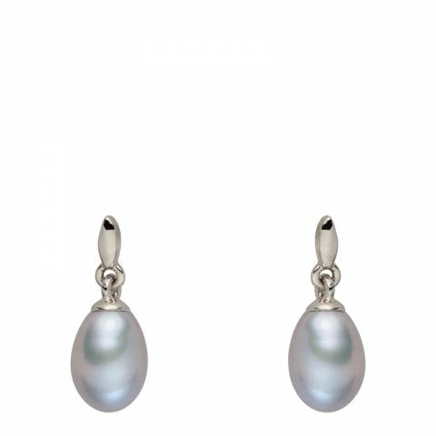 Nova Pearls Copenhagen Silver Pearl Drop Earrings