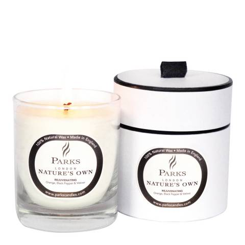 Parks London Orange/Pepper/Basil Rejuvenating Spa Candle 30cl