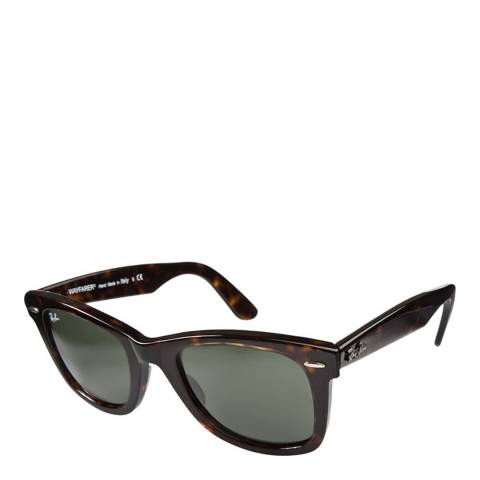 Ray-Ban Unisex Brown Tortoiseshell Original Wayfarer Sunglasses 50mm