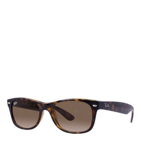 Ray-Ban Unisex Tortoiseshell New Wayfarer Sunglasses 55mm