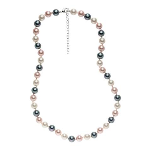 Pearls of London Pale Pink/Multicolour Pearl Necklace