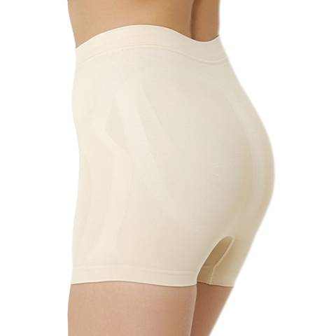 Formeasy Beige Low Waist Short Leg Shaper