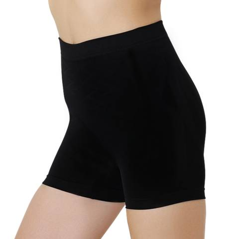 Formeasy Black Low Waist Short Leg Shaper
