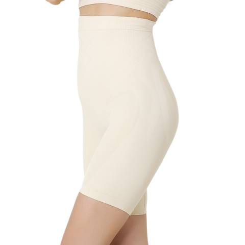 Formeasy Beige High Waist Long Leg Shaper