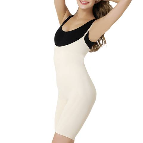 Formeasy Beige Under-Bra Full Body Shaper