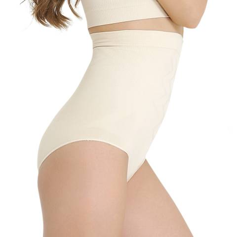 Formeasy Beige High Waist Slip Shaper with Bracket