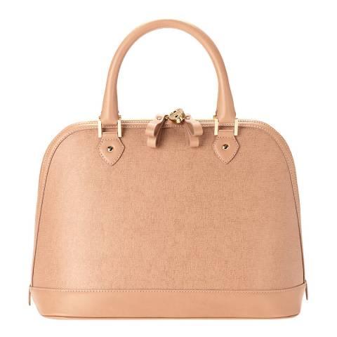 Aspinal of London Deer Saffiano Hepburn Bag