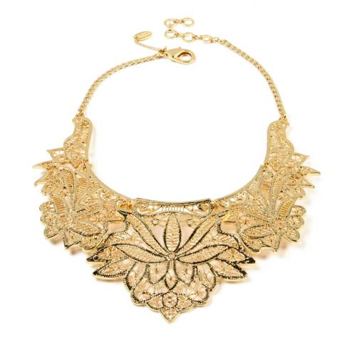 Amrita Singh Gold Athena Collar Necklace