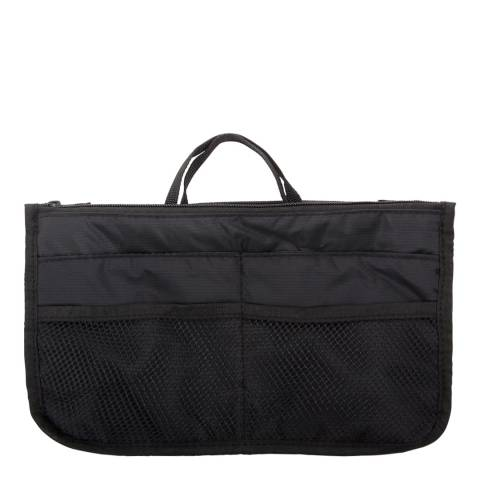 Les Bagagistes Black Multi Compartment Bag