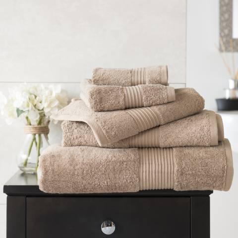 Deyongs Bliss Pima Cotton Hand Towel, Mocha