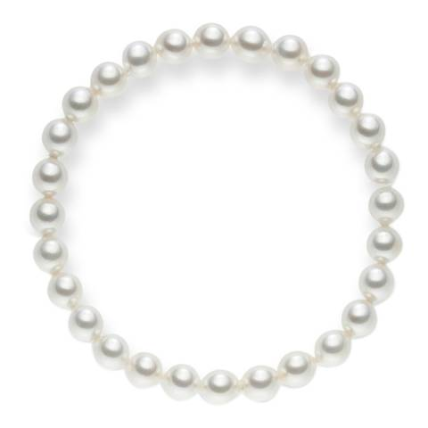 Pearls of London White Organic Pearl Bracelet