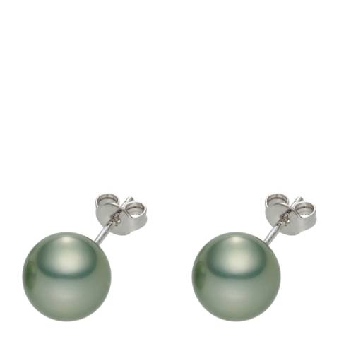 Pearls of London Grey Pearl Stud Earrings