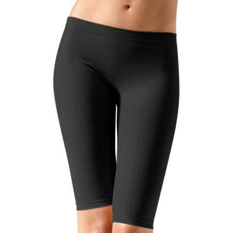 Controlbody Black Mid Length Shorts