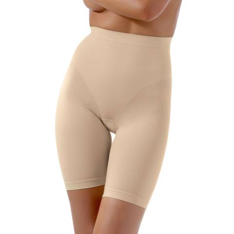 Controlbody Natural High Waisted Thigh Shaping Shorts