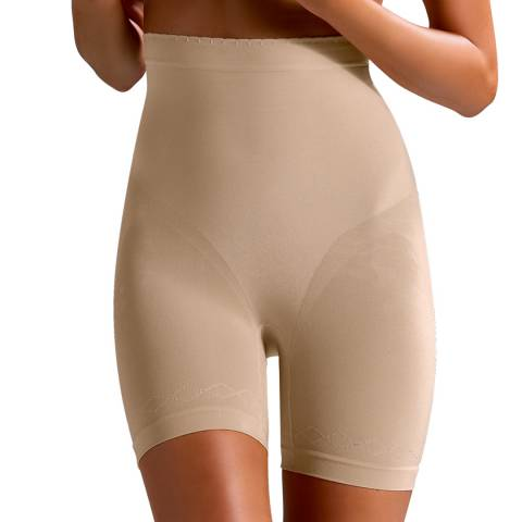 Controlbody Natural Gold High Waisted Shorts