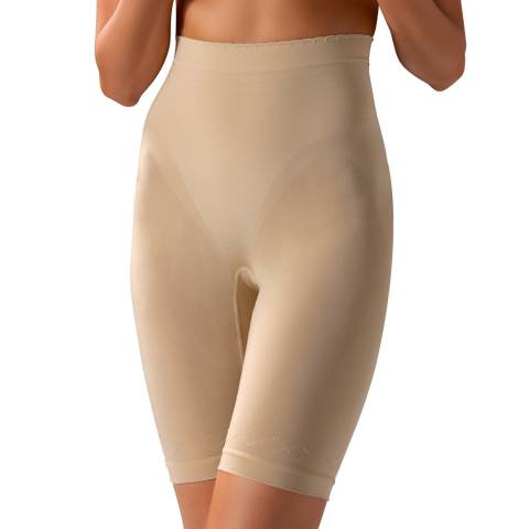 Controlbody Natural High Waisted Mid Length Shorts