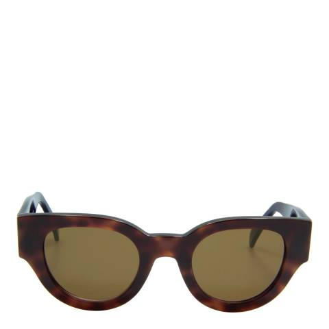 Celine Women's Brown/Dark Blue Sunglasses 48mm