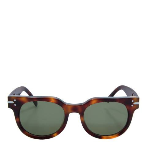 Celine Unisex Brown Celine Sunglasses 50mm
