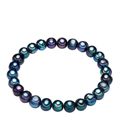The Pacific Pearl Company Blue Fresh Water Cultured Pearl Bracelet