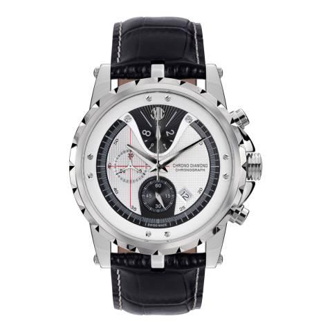 Chrono Diamond Men's Swiss Black Furia Watch