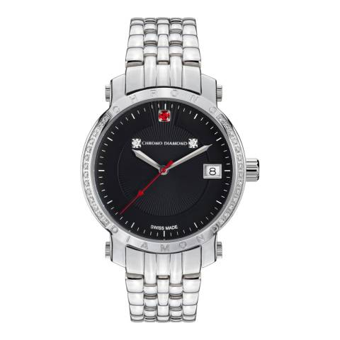 Chrono Diamond Women's Swiss Silver Nesta Diamond Watch