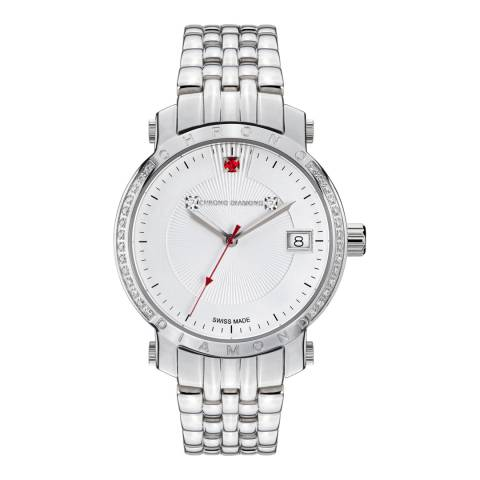 Chrono Diamond Women's Silver/White Diamond Nesta Watch