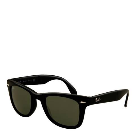 Ray-Ban Unisex Black/Green Wayfarer Sunglasses 54mm