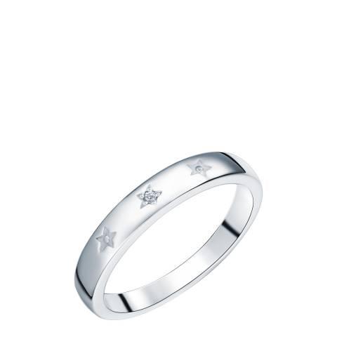 Tess Diamonds Silver Star Diamond Ring