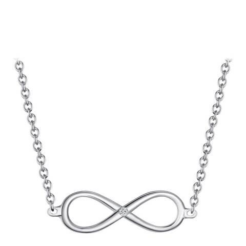 Carat 1934 Sterling Silver Infinity Pendant Necklace