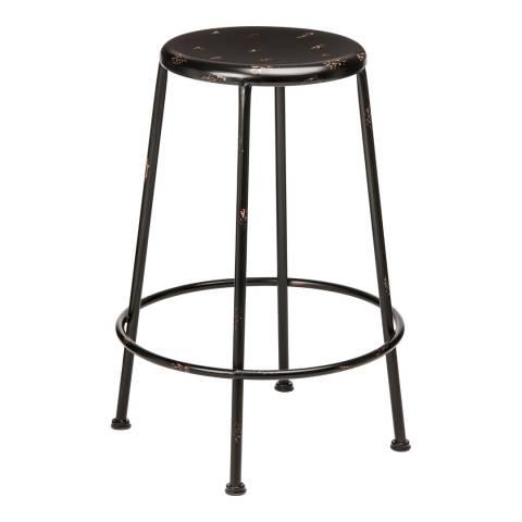 Premier Housewares Black Artisan Tall Bar Stool