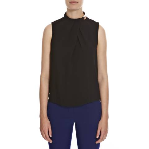 Joseph Black Judi Fludi High Neck Sleeveless Top