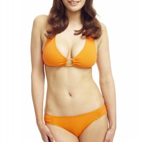 Elizabeth Hurley Beach Suki Bikini Tangerine