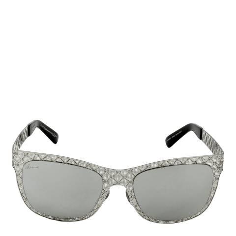 Gucci Women's Silver Sunglasses 55mm