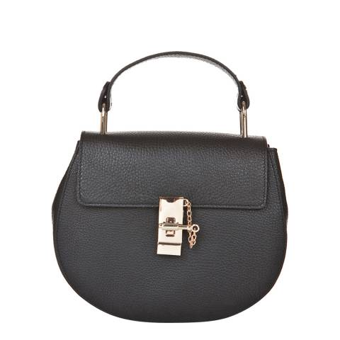 Giorgio Costa Black Leather Cross Body Bag