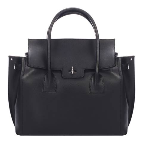 Giorgio Costa Black Leather Handbag
