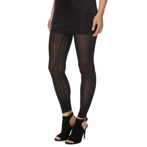 Bolongaro Trevor Black Sheerly Stretch Leggings