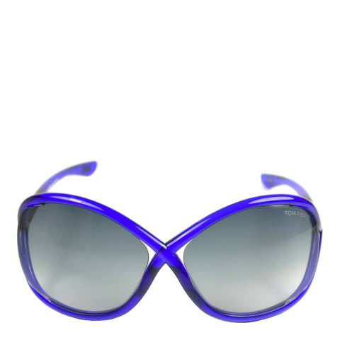 Tom Ford Women's Purple Whitney Butterfly Sunglasses
