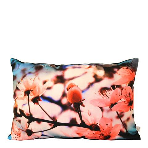 Gallery Pink Flora Rectangle Cushion 33x50cm