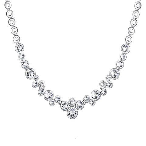 Lilly & Chloe Silver Swarovski Elements Necklace