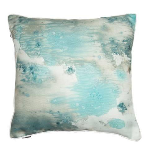 Malini Ocean Swirl Cushion 43x43cm