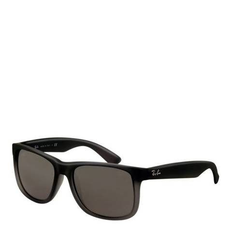 Ray-Ban Unisex Black/Grey Justin Faded Sunglasses
