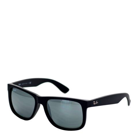 Ray-Ban Unisex Black/Grey Justin Sunglasses 54mm