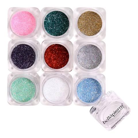 Bellapierre Mineral Shimmer Powder 9Stack - Glamourous Glitter