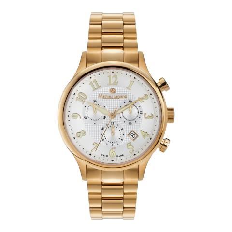 Mathieu Legrand Men's Gold Stainless Steel Metropolitain Watch
