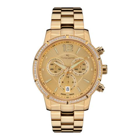 Mathieu Legrand Women's Gold Eclatante Bracelet Watch