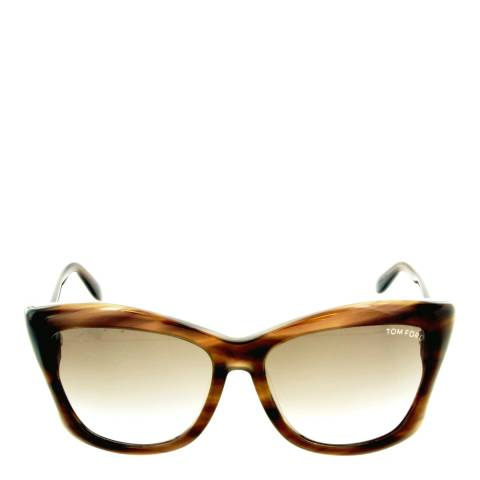Tom Ford Women's Dark Brown Lana Sunglasses 59mm