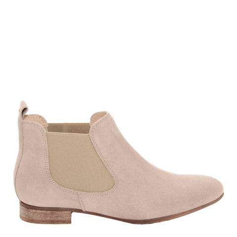 Eye Pale Pink Suede Chelsea Boots