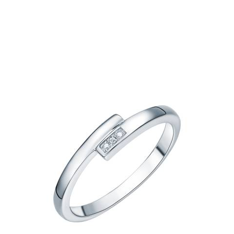 Tess Diamonds Silver Diamond Ring